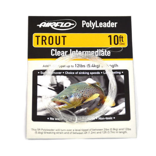 Airflo Trout PolyLeaders - Fly and Field Outfitters - Online Flyfishing Shop