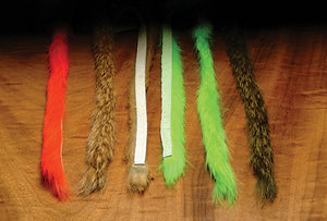 Hareline Dubbin Magnum Rabbit Strips - Fly and Field Outfitters - Online Flyfishing Shop