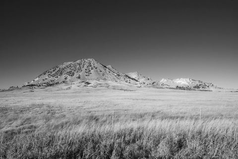 """Bear Butte"" - Piezography Print 