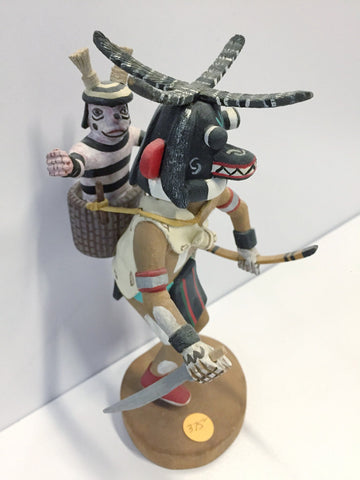 """Awatovi Soyok Taka"" (Monster Man) Kachina Doll 