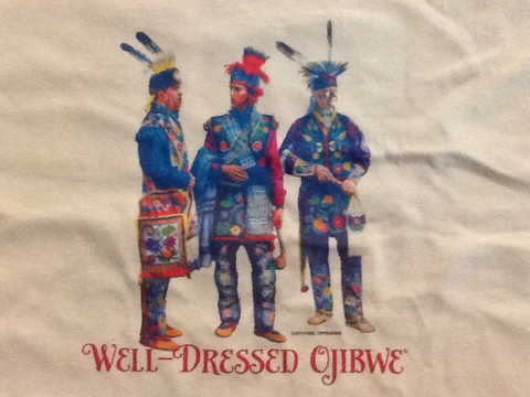 """Well-Dressed Ojibwe"" Shirt"