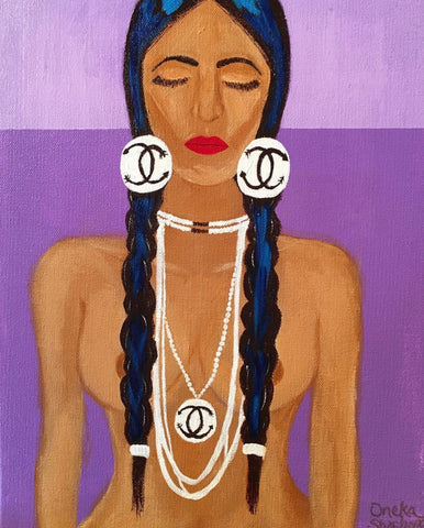 """Bearing Her Symbol"" - Framed Print 