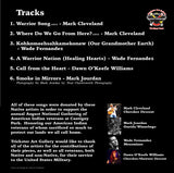Music Tribute to American Indian Veterans CD Back