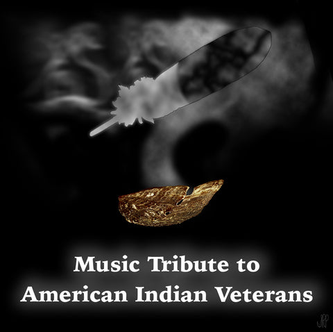 Music Tribute to American Indian Veterans CD Cover