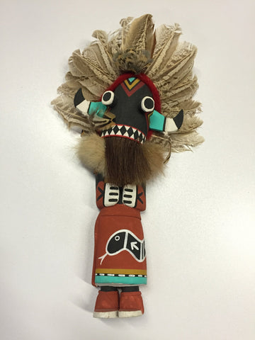 """Broadfaced Whipper"" Kachina Doll"