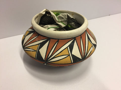 Painted Acoma Pot |  V Louis