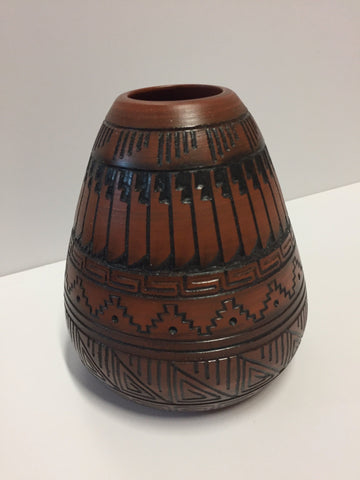 Brown Vase | Leon King