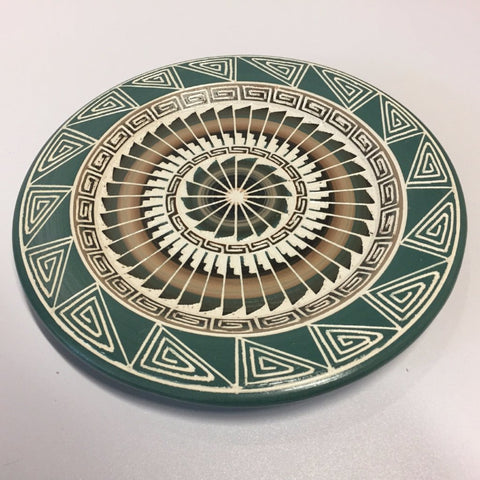 Decorative Plate - Green | Leon King