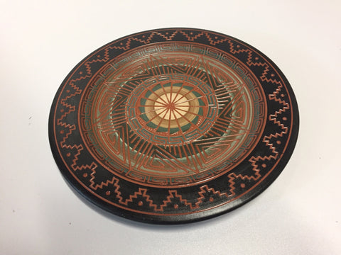 Dark Decorative Plate | Leon King