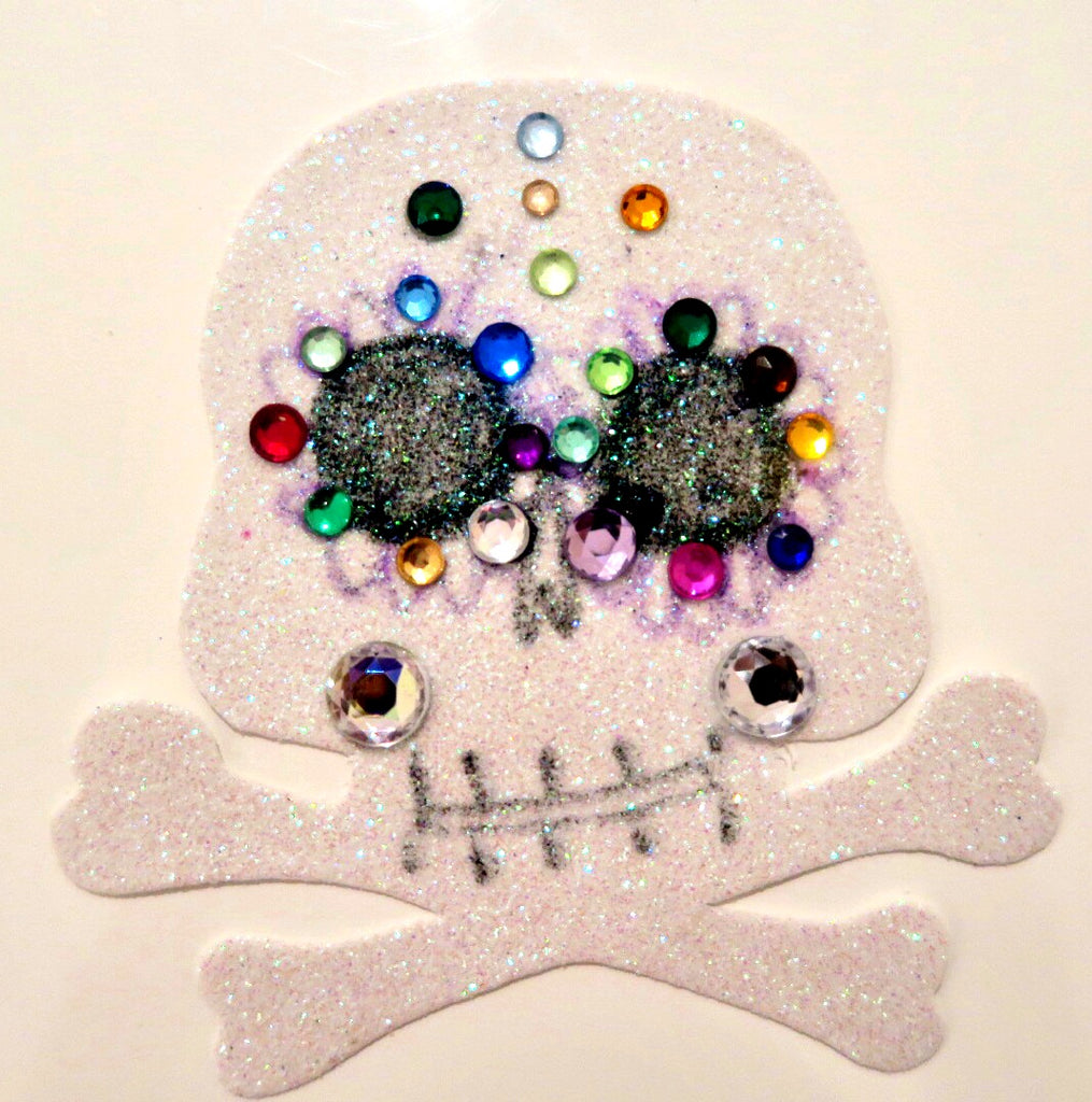 diy sugar skull magnet by Pamelyn Rocco