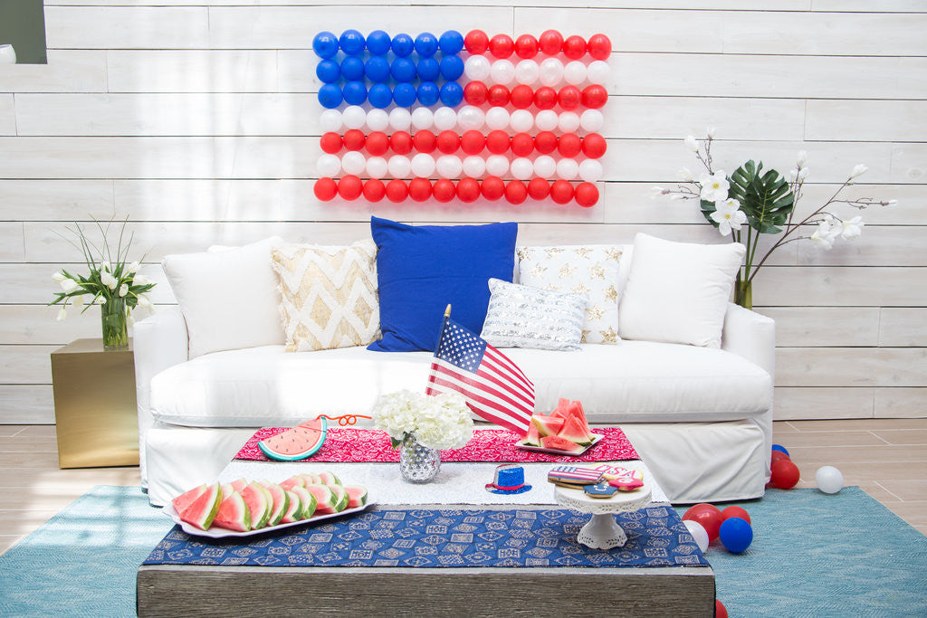 4th of July Party set-up by Nasher