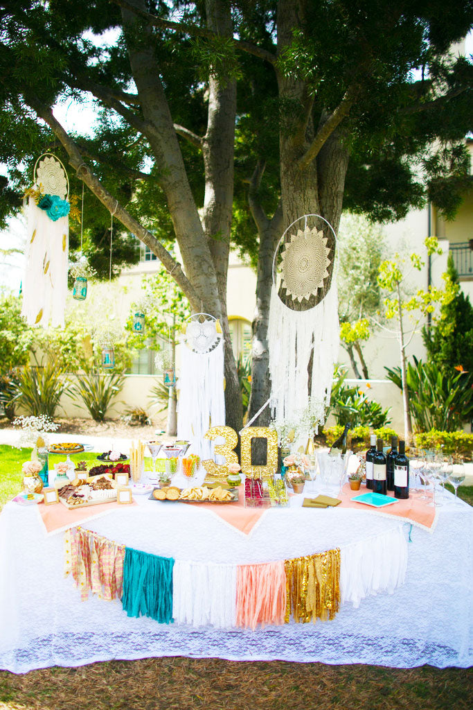 boho style party rentals, boho chic party supply rentals, boho props, boho decorations, los angeles ca, oc