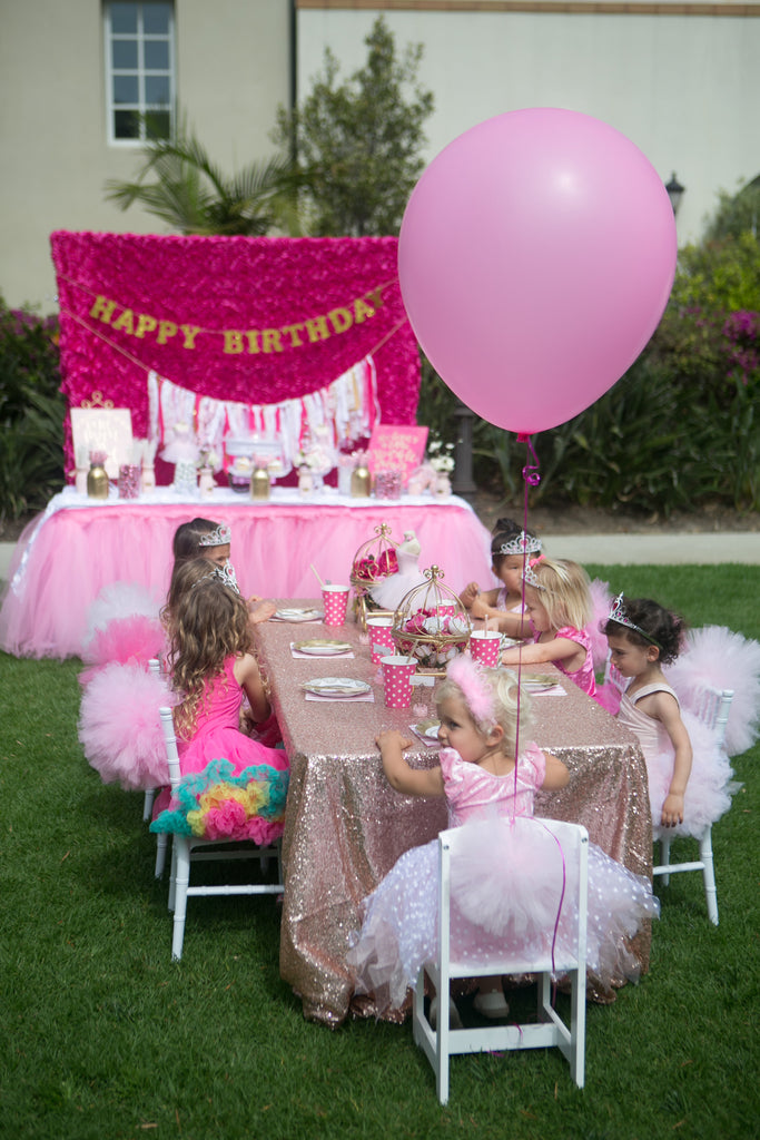 Tutus, Tiaras & Princess Themed Party Rentals LA & OC