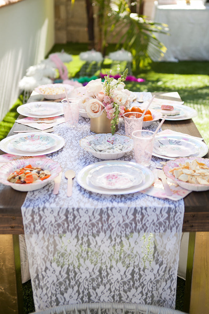 Kids party tablescape