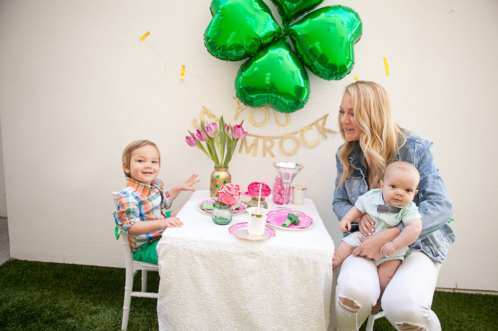 You Shamrock Party Backdrop