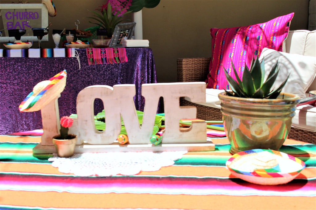 Fiesta Inspired Wedding Shower