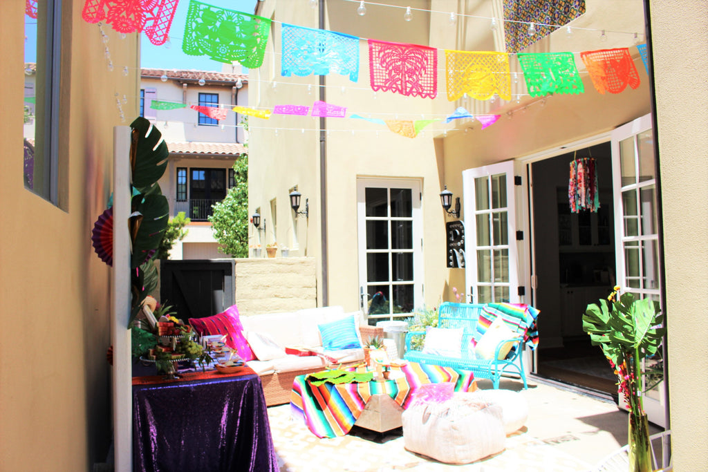 Papel Picado for fiesta wedding shower