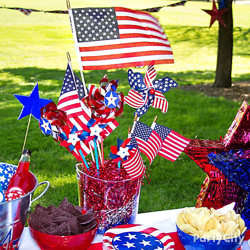4th of July decor from Bashery