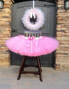 Tulle Highchair Skirt