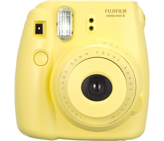 Yellow Polaroid Camera