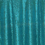 Teal Sequin Tablecloth