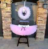 Pretty In Pink Tulle Wreath