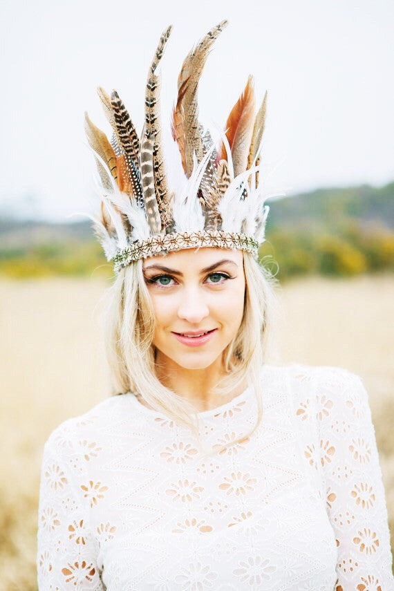 Adult Feather Headpiece