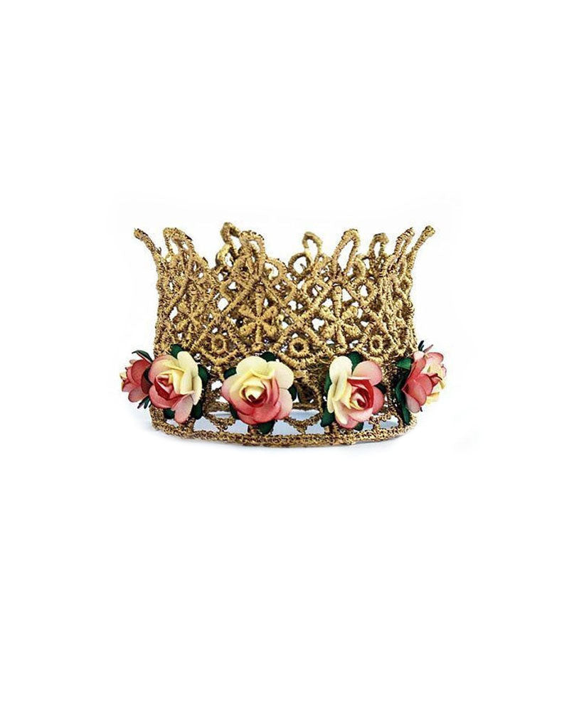 Floral Lace Crown