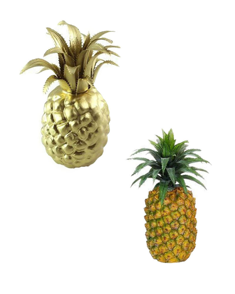Faux Pineapples
