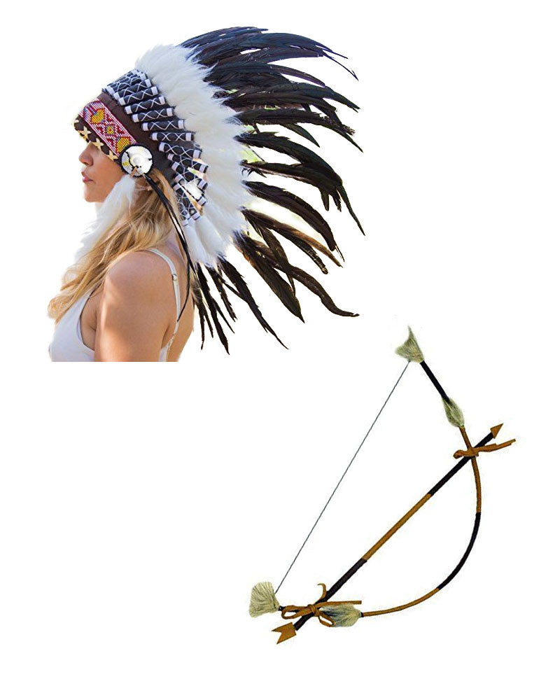 Indian Headdress & Arrow
