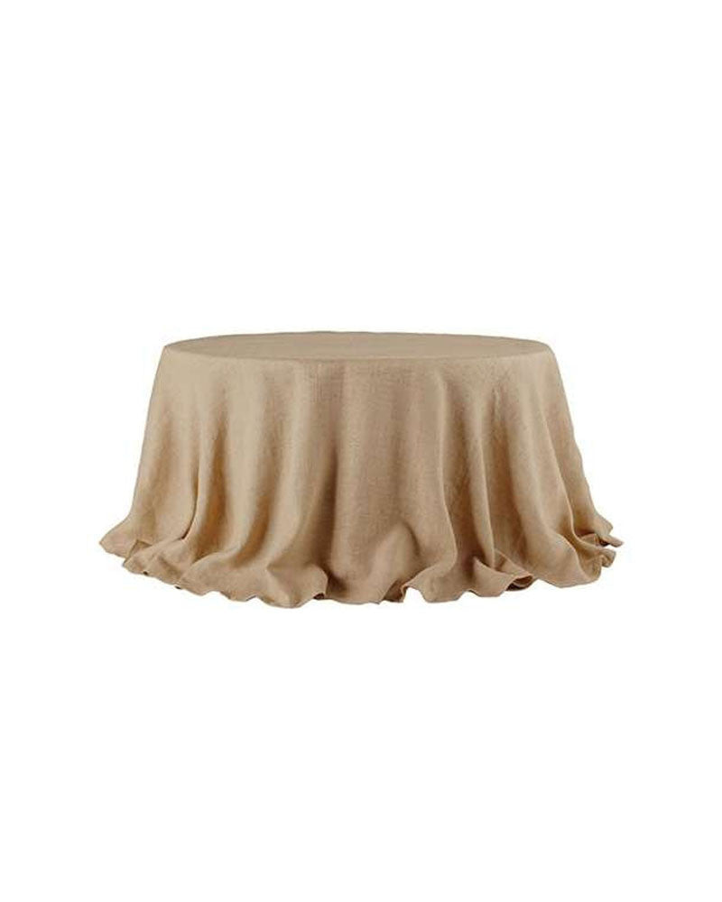 Linen Burlap Tablecloth