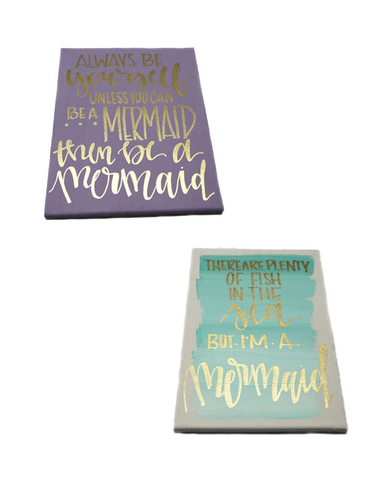 Mermaid Canvas Prints