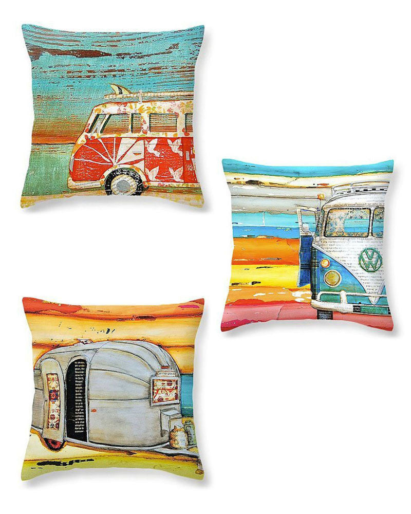 Vintage Beach Pillows