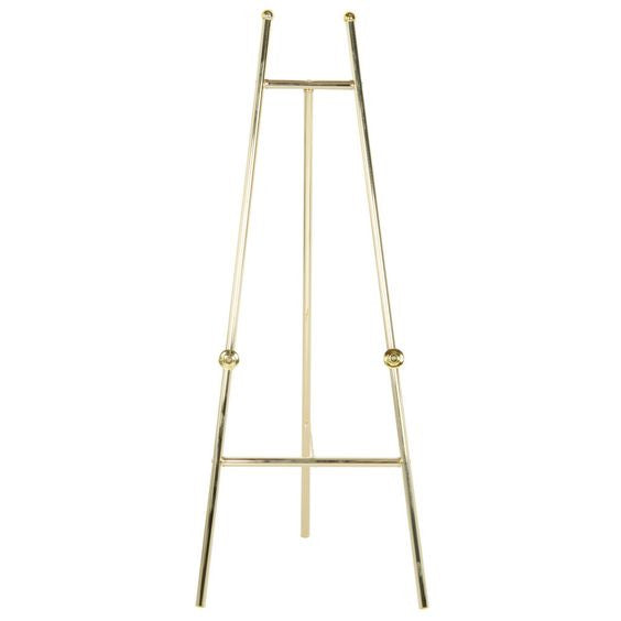 Brass Colored Metal Easel