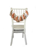 Peachy Chair Tassels
