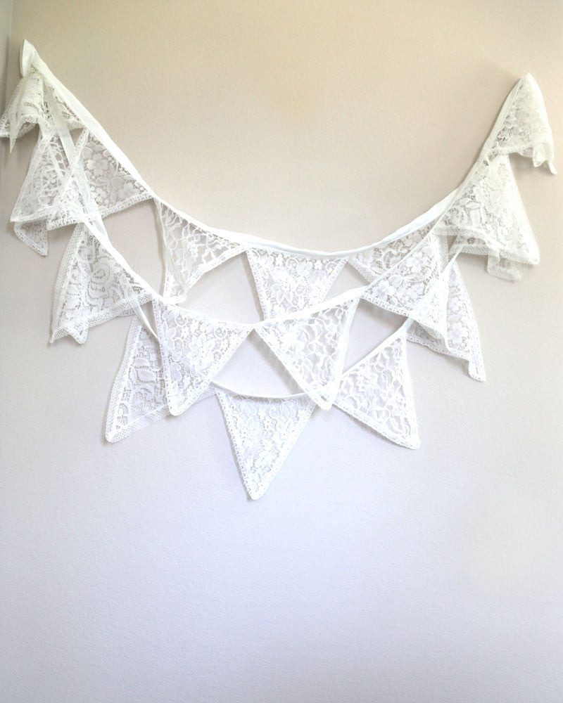 Lace Bunting Garland