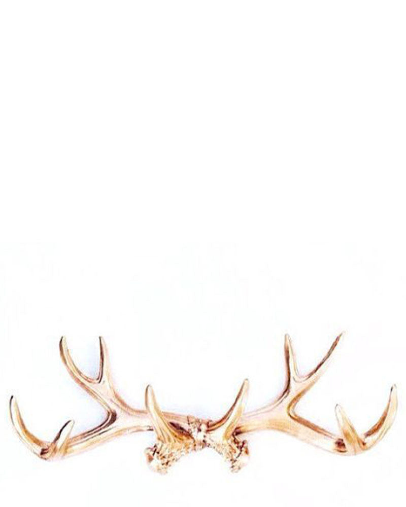 Gold Faux Antlers
