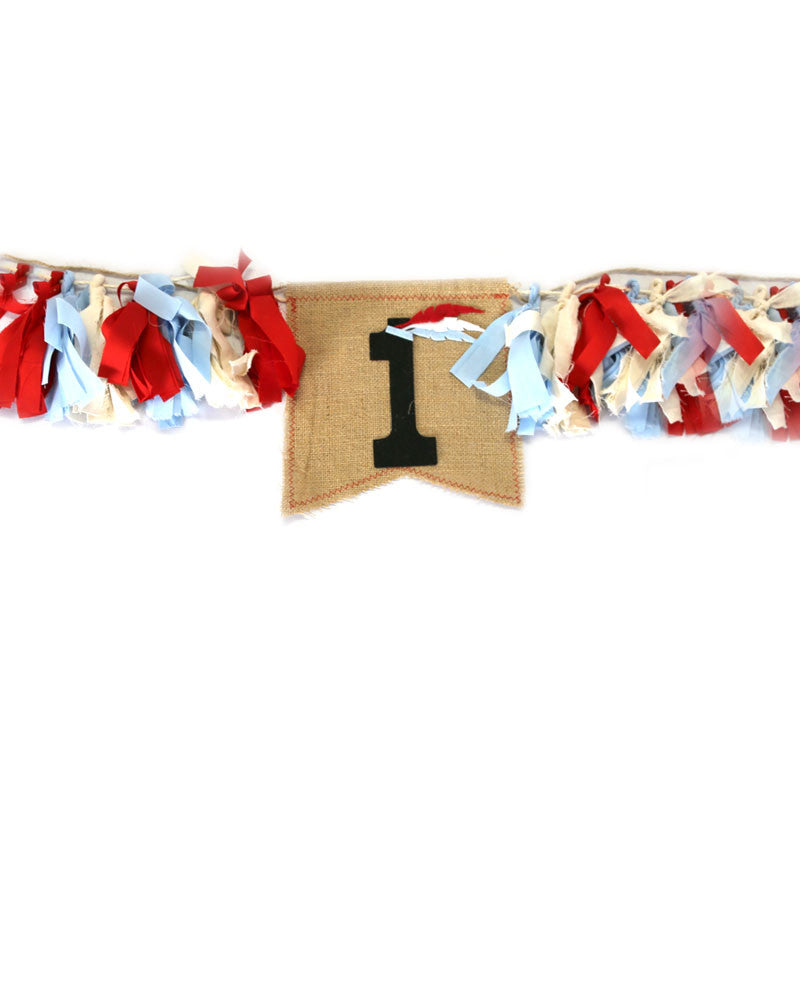 Feather High Chair Garland