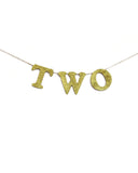 Gold T-W-O Banner