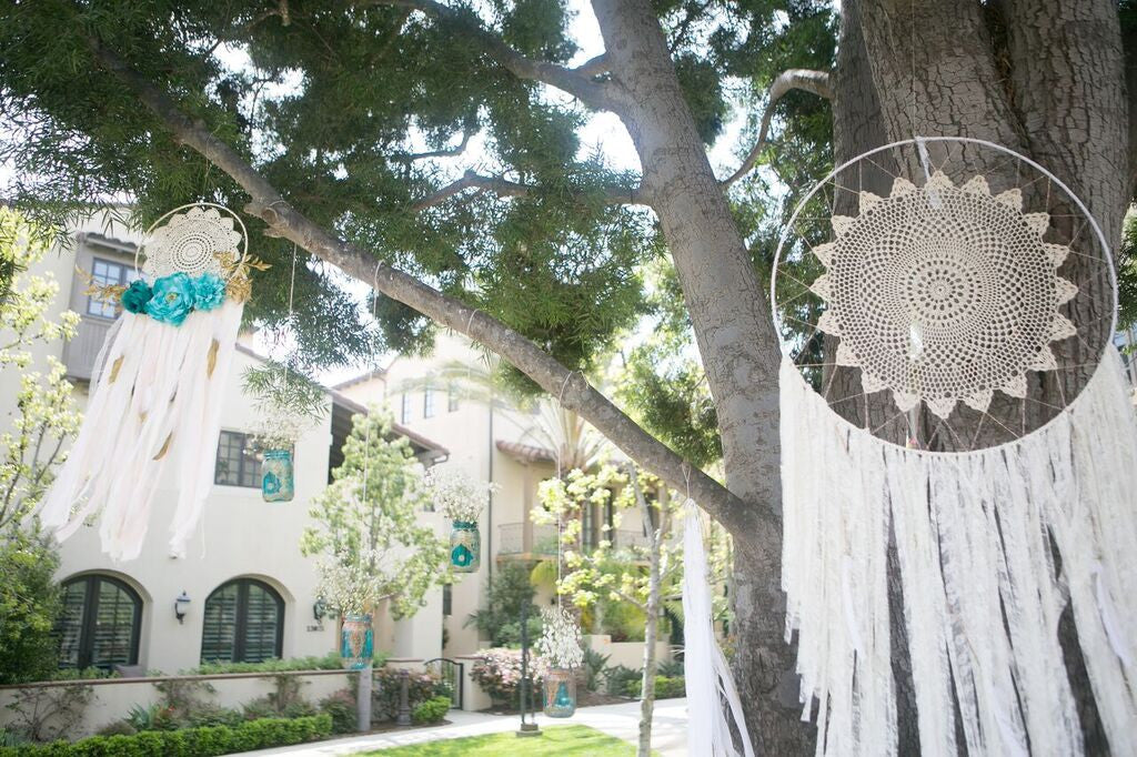 Lace Boho Dreamcatcher