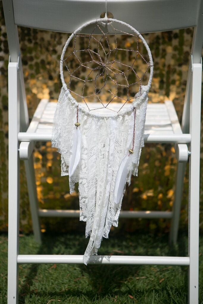 Mini Lace Dreamcatcher