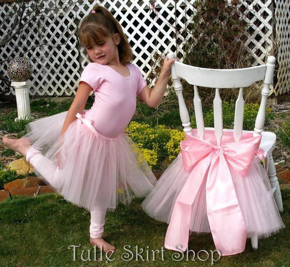 Tutu Chair Skirt Set