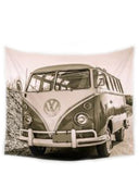 Surfer Van Tapestry