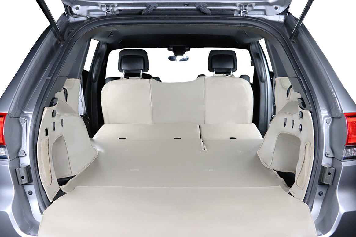 Custom Cargo Liner Covers the Floor and Sides
