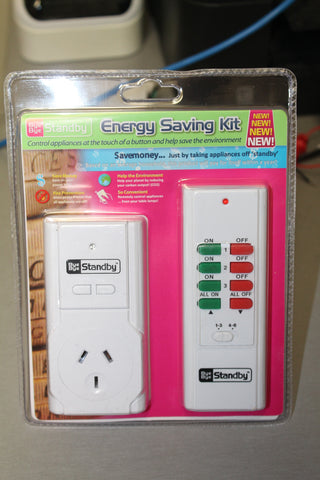 Bye Bye Standby Energy Saving Kit