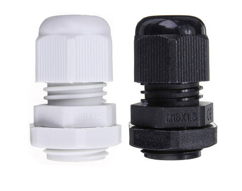 Cable Gland 16mm Black