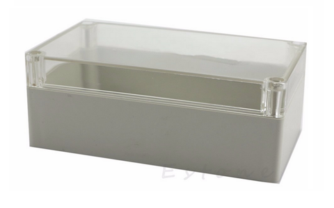 Enclosure IP56 Clear Lid15*9*6
