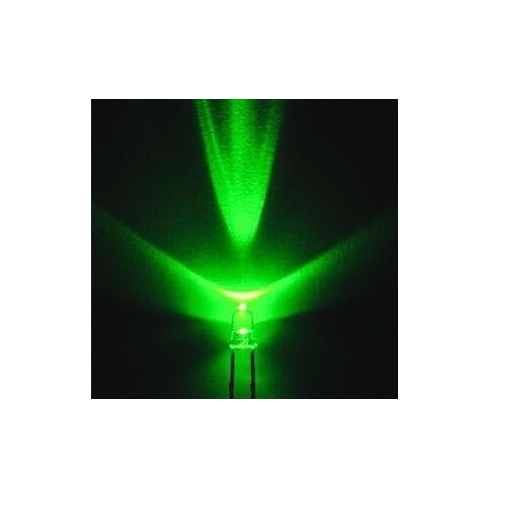 LED 3mm Round Green