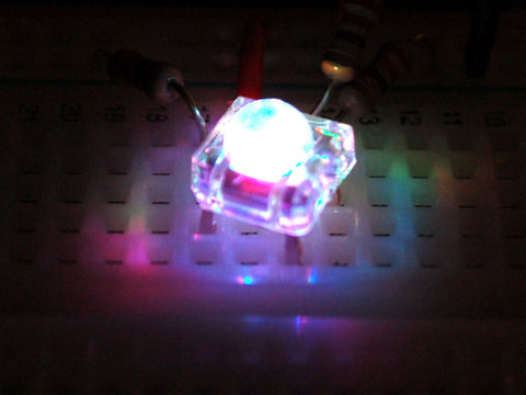 LED 5mm RGB Comm Cath Piranha