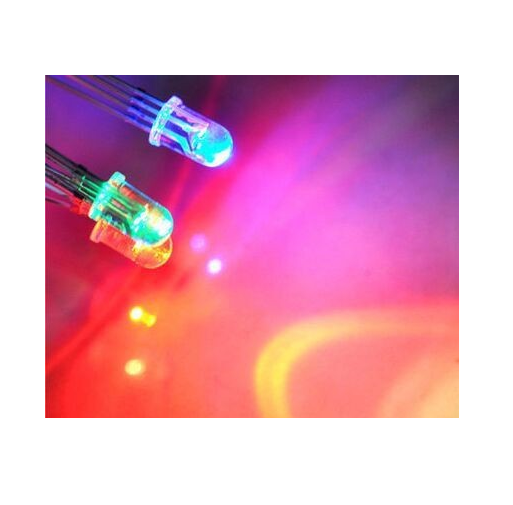 LED 5mm Round RGB Common Anode